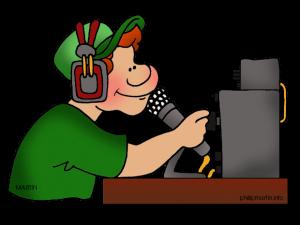 Ham-radio-operator PNG